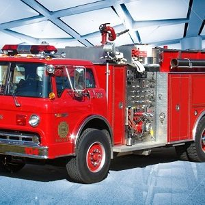 Fire Truck and Vehicle